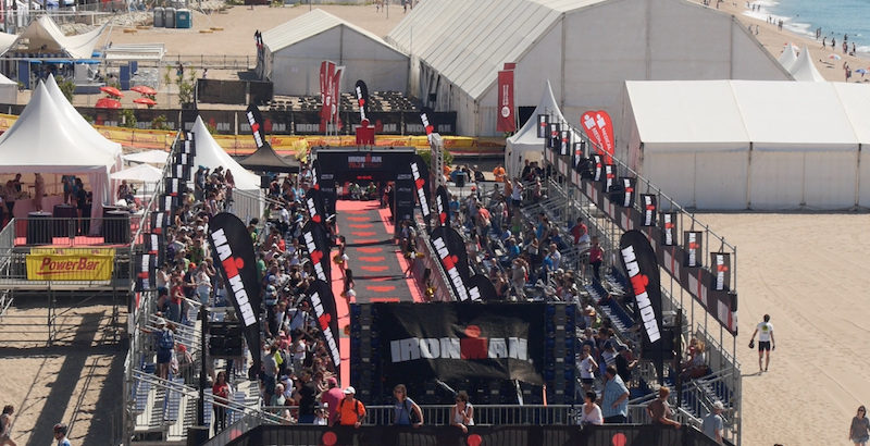 VIDEO: LLegada Tops PRO Men del 70.3 Barcelona
