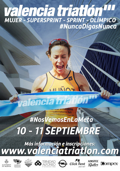 cartel valencia triatlon