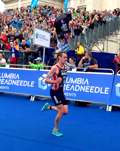 Alistair Brownlee WTS Leeds