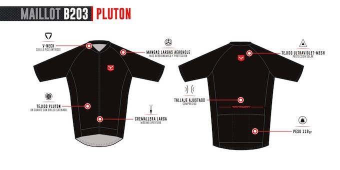 taymory pluton maillot