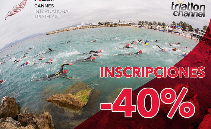 40% de descuento en el Cannes International Triathlon