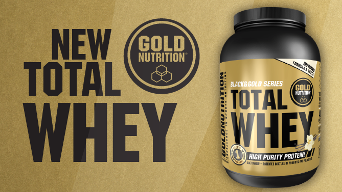 Nueva proteína Total Whey de Gold Nutrition