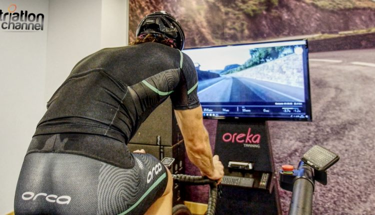 VIDEO: Peru Alfaro entreno de ciclismo indoor con el Oreka Training