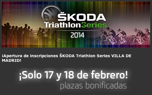 Skoda Triathlon Series Madrid supera el 30% de inscritos