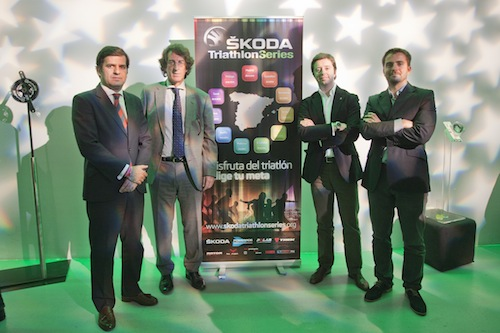 Solo 250 plazas para el Skoda Triathlon Series Madrid