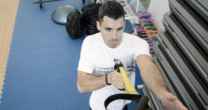 VIDEO: Ejercicios de TRX ( abdominal, core, pierna…. )