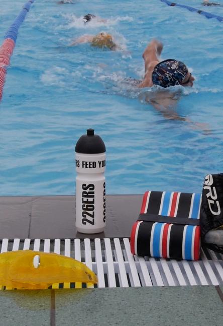 Entreno de natación para engañar al pulso