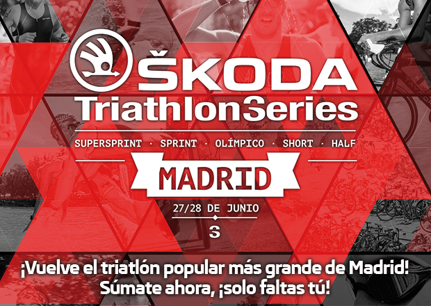Skoda Triathlon Series Madrid tranquiliza, habrá triatlon