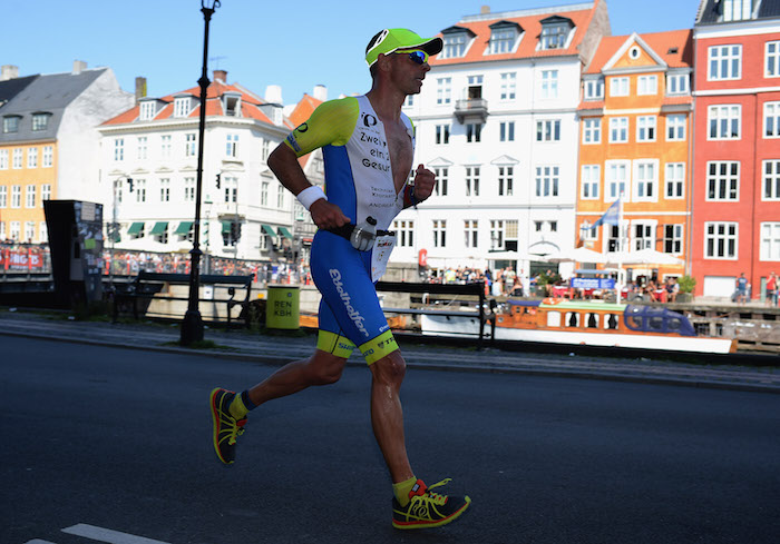 COPENHAGEN, DENMARK - AUGUST 23:  Andreas Niedrig of Germany during the run section of Ironman Copenhagen on August 23, 2015 in Copenhagen, Denmark.  (Photo by Nigel Roddis/Getty Images for Ironman)