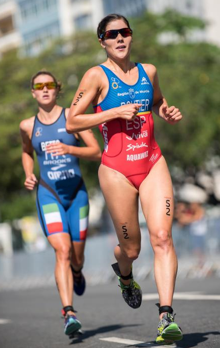 Carolina Routier y David Castro Tops 8 en la Cop del Mundo de Triatlon Cagliari