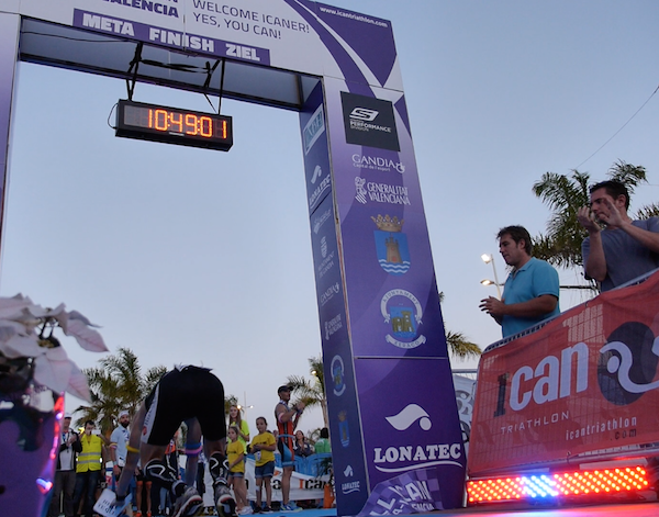 ICAN Gandía empuje final 25% con Triatlon Channel