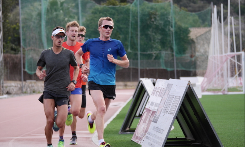 VIDEO: Entrenamiento de 500 m en pista, Road to Rio 2016