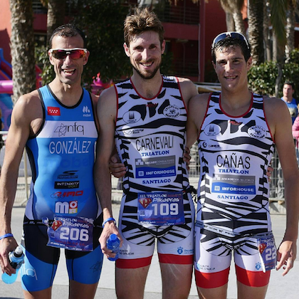 podio almunecar triatlon