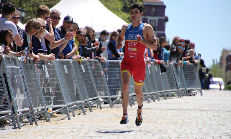 VIDEO: Copa de Europa de Triatlon Madrid masculina 2016