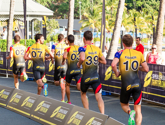 FOTOS: Segunda etapa de la Super League Triathlon