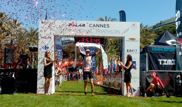 Sebastian Kienle arrasa en Cannes International Triathlon