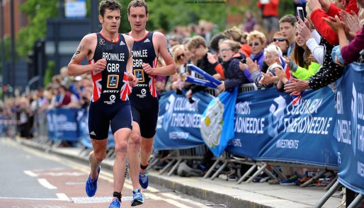 Los Brownlee al frente del British Team para los Joegos de la Commonwealth