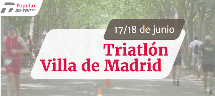 El Triatlón Villa de Madrid supera los 1500 inscritos