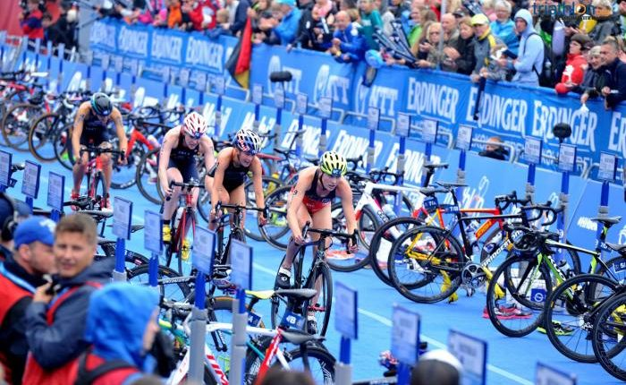 El top 3 de potencias mundiales de triatlon con drafting
