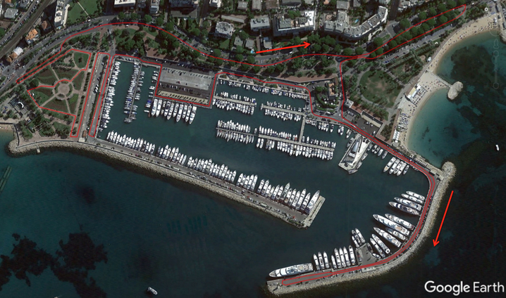 Cannes International Triathlon presenta los recorridos