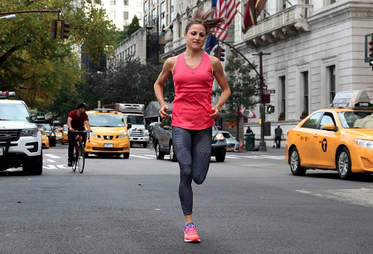 Una triatleta Top 6  en la Marathon New York