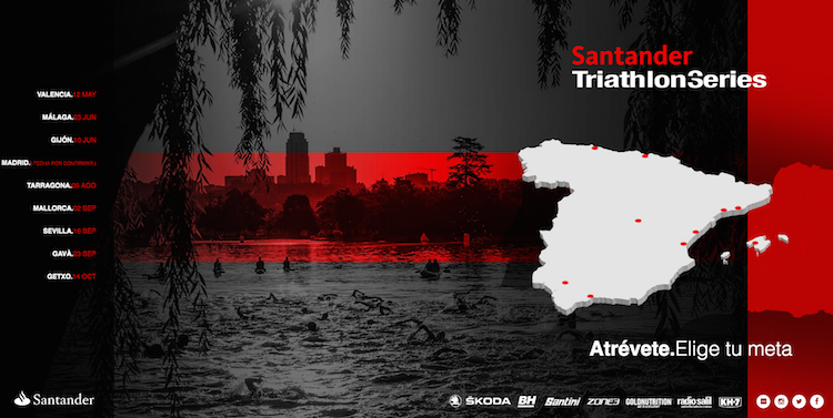 Llegan las Santander Triathlon Series 2018