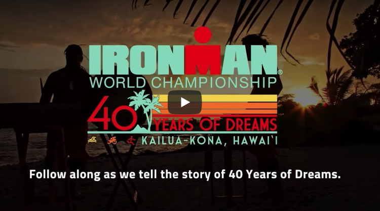 Video conmemorativo 40 años del IRONMAN Hawaii