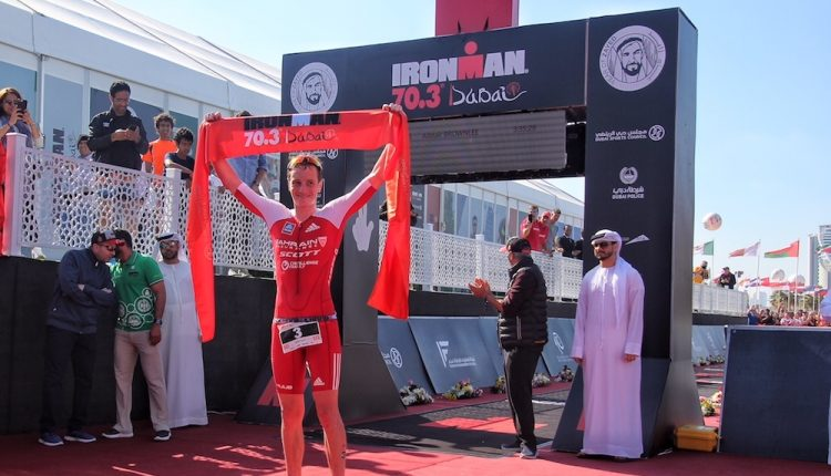 FOTOS: IRONMAN 70.3 Dubai