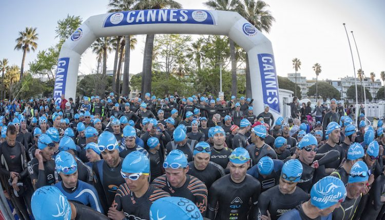 El V aniversario del Polar Cannes International Triathlon a lo grande