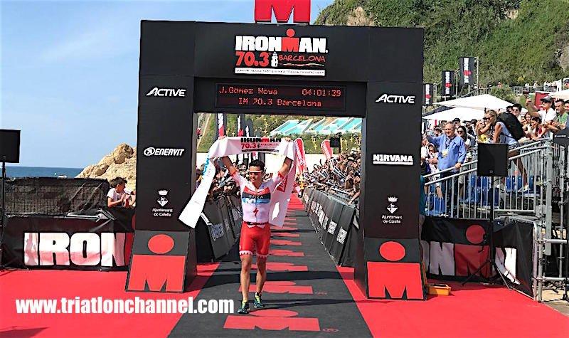Javier Gómez Noya Ironman Barcelona