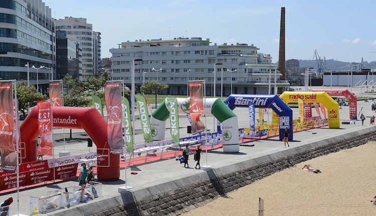Ultimas plazas para la Santander Triathlon Series Gijón