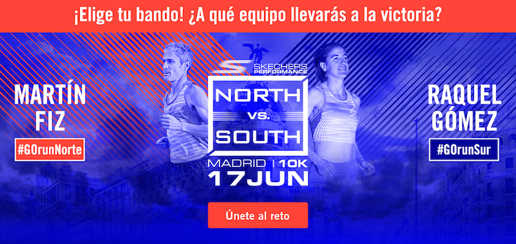 Skechers se prepara para la Skechers Performance Norte Vs. Sur
