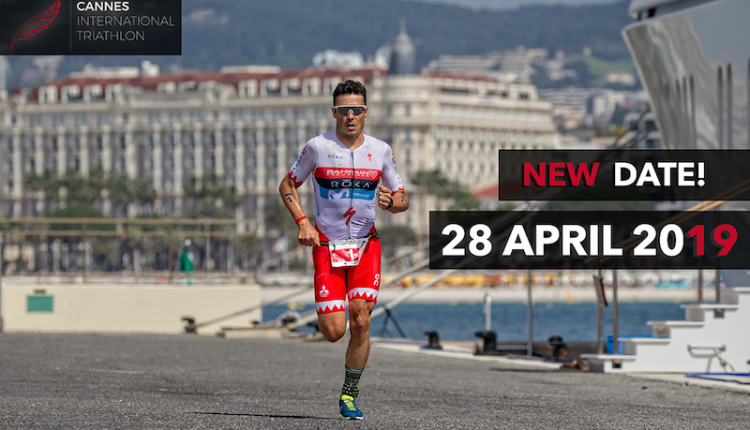 Cannes International Triathlon para el 28 de abril