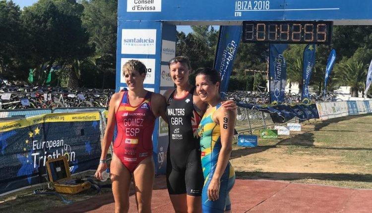 Laura Gómez plata en el Cto de Europa de Triatlon Cross