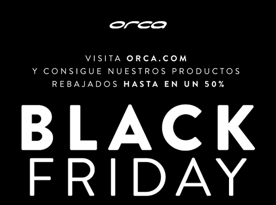 Black Friday Orca al 50%