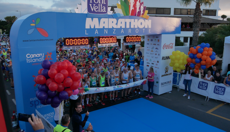 VIDEO: Lanzarote Marathon 2018
