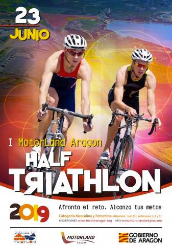 Circuito Alcañiz : Llega un triatlon half en el circuito de velocidad de alcañiz