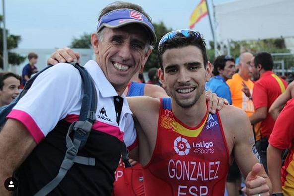 Ignacio González segundo en la Copa de Europa Triatlon Huelva