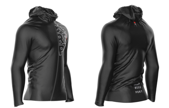 Nueva chaqueta impermeable Hurricane Compressport