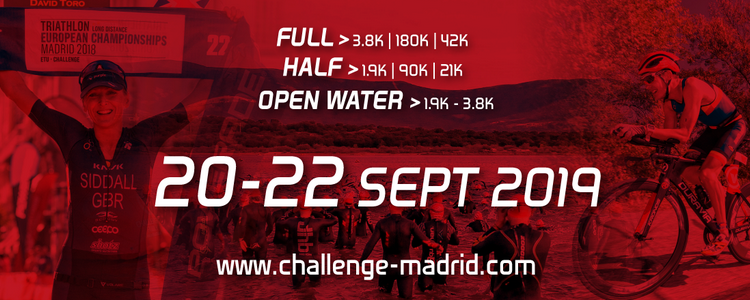 Plazas low cost, edición limitada Triatlon Channel, al Challenge Madrid