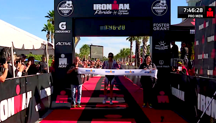4:01:19 bike, 2:36:09 run y 7:46:28 día brutal en IRONMAN Florida