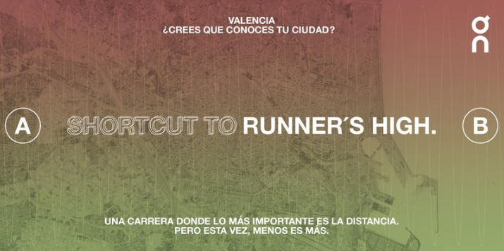 On Running lanza el reto valenciano The Shortcut to Runner's High