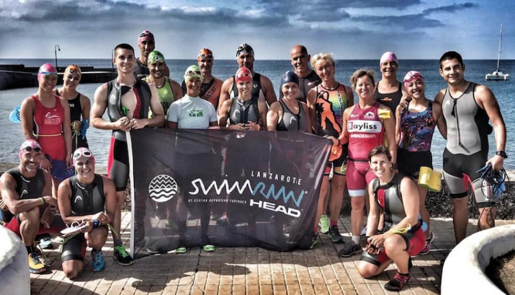 Ultimas horas para inscribirse al SwimRun Lanzarote by HEAD