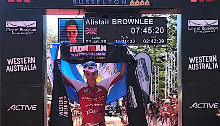 Alistair Brownlee, arrase 7.45 en IRONMAN Western Australia