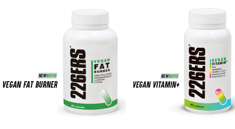 Vegan Fat Burner y Vegan Vitamin+ nuevos productos 226ERS