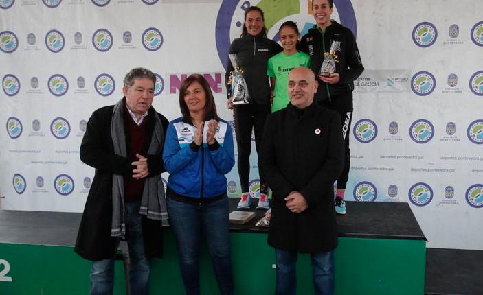 Triatleta de 12 años venció la San Silvestre de Pontevedra