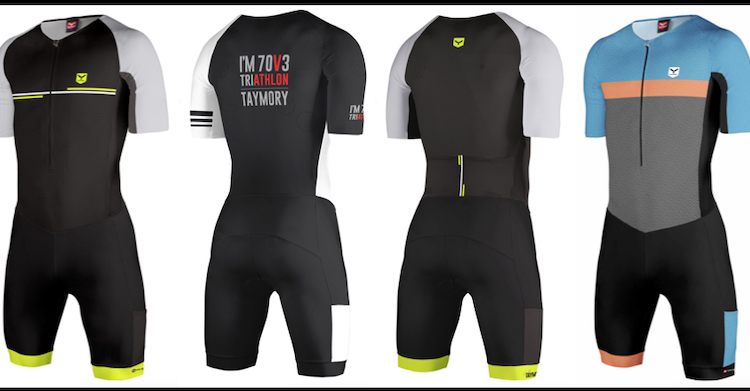 Nuevos monos de triatlon larga distancia Taymory Gold