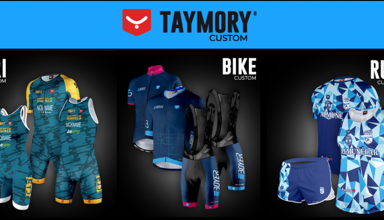 Taymory Custom, para los 3 segmentos swim-bike-run