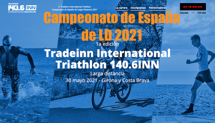 TRADEINN International Triathlon 140.6INN, Cto de España de LD
